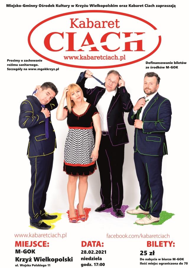"""Kabaret """"Ciach"""" - plakat"""