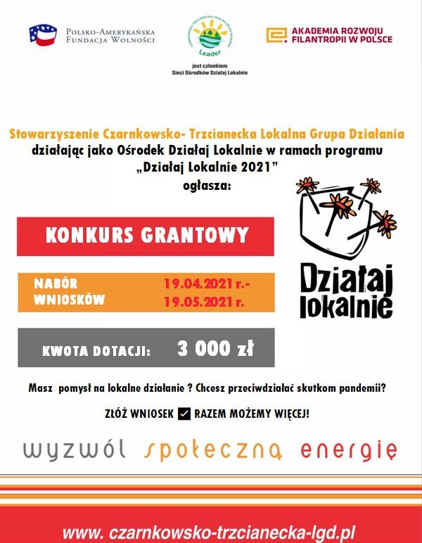 LGD - konkurs grantowy