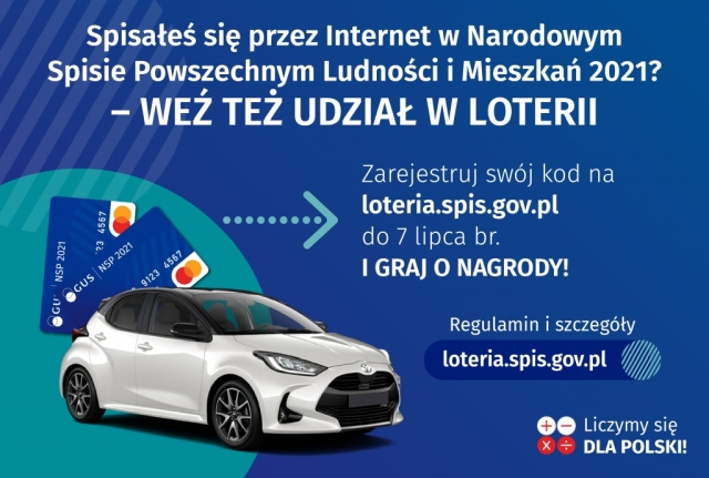Narodowy Spis Ludności - loteria