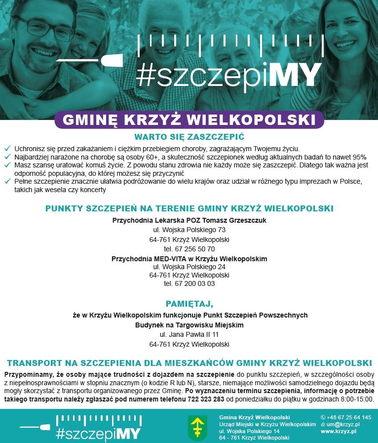 SzczepiMy Gminę Krzyż Wielkopolski
