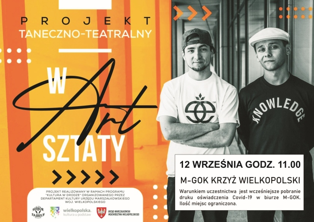"Projekt taneczno teatralny ""Warsztaty"""